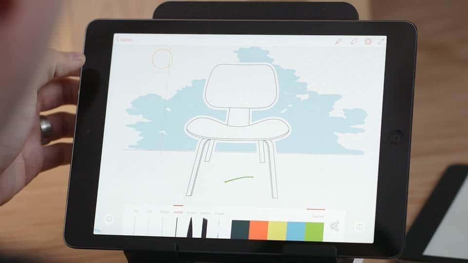 آموزش برنامه های Adobe's Line و Sketch