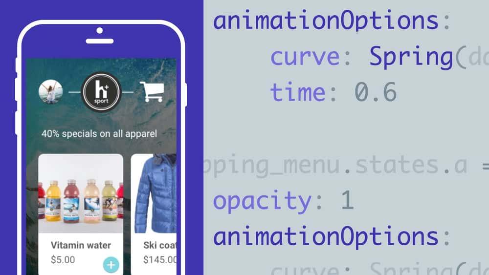 آموزش انیمیشن ها و تعاملات پیشرفته با Framer