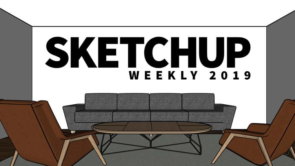 آموزش هفتگی SketchUp