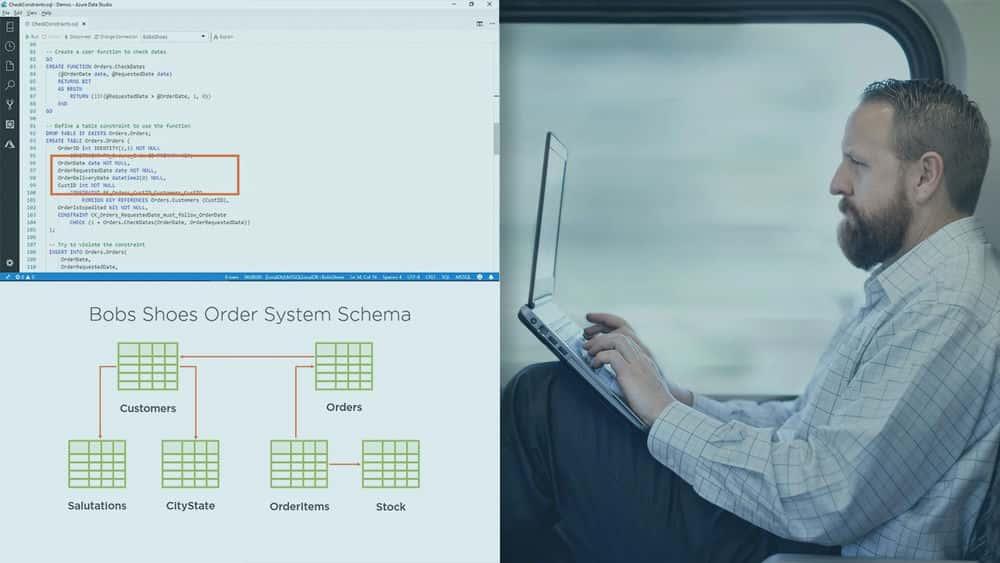 آموزش طراحی و اجرای جداول و نماهای SQL Server