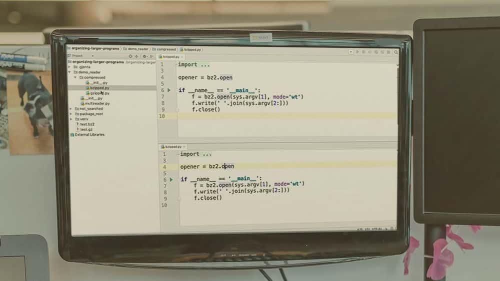 آموزش Core Python: سازماندهی برنامه های بزرگتر