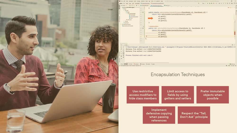 آموزش کار با روش ها و کپسوله سازی (Java Se 8 Confermammer I صدور گواهینامه 1Z0-808)