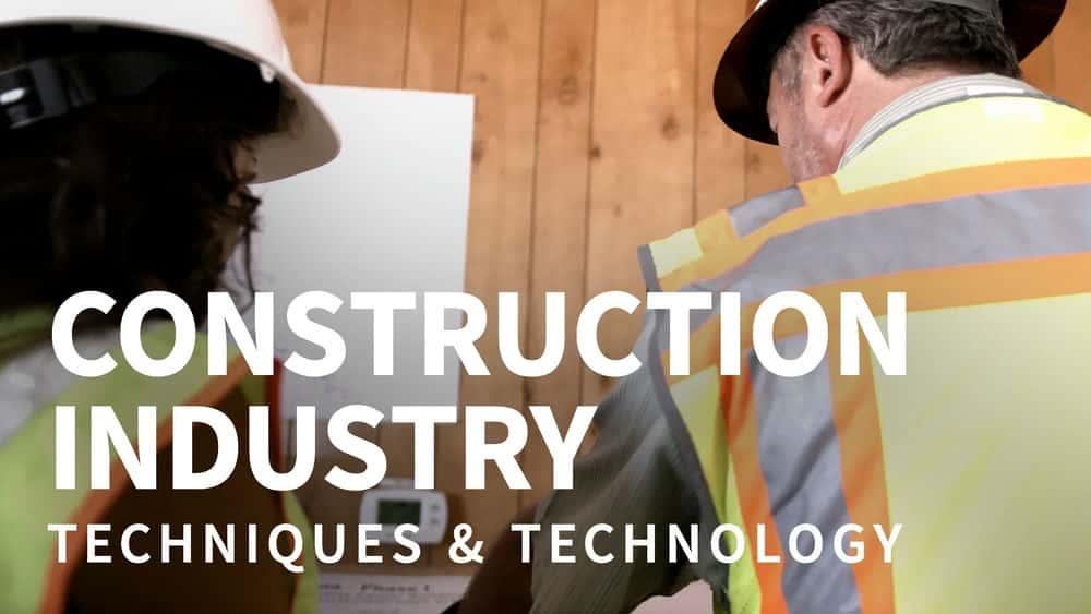 آموزش صنعت ساخت و ساز: فنون و فن آوری