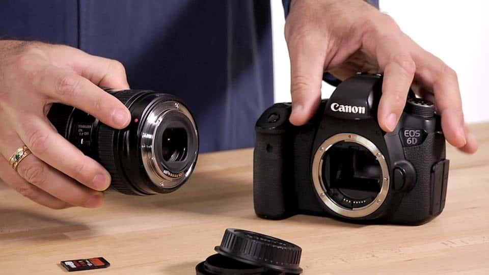 آموزش یادگیری Canon 6D