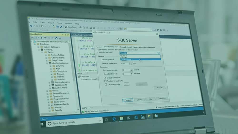 آموزش دسترسی امن به پایگاه های Microsoft Azure