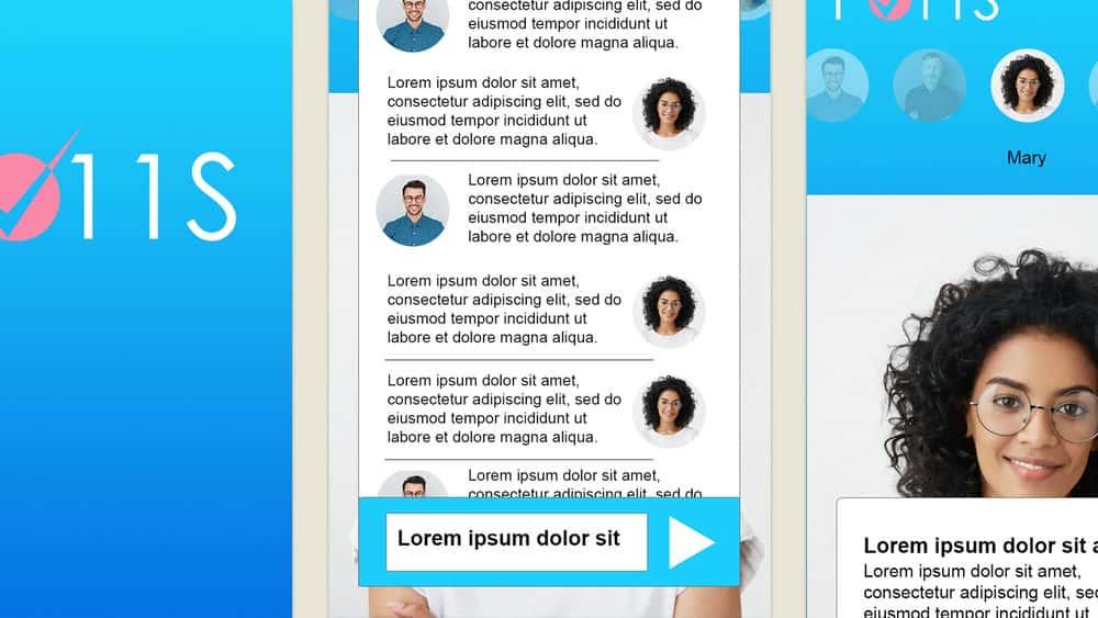 آموزش Photoshop CC و Design Systems: طراحی یک مشتری گپ