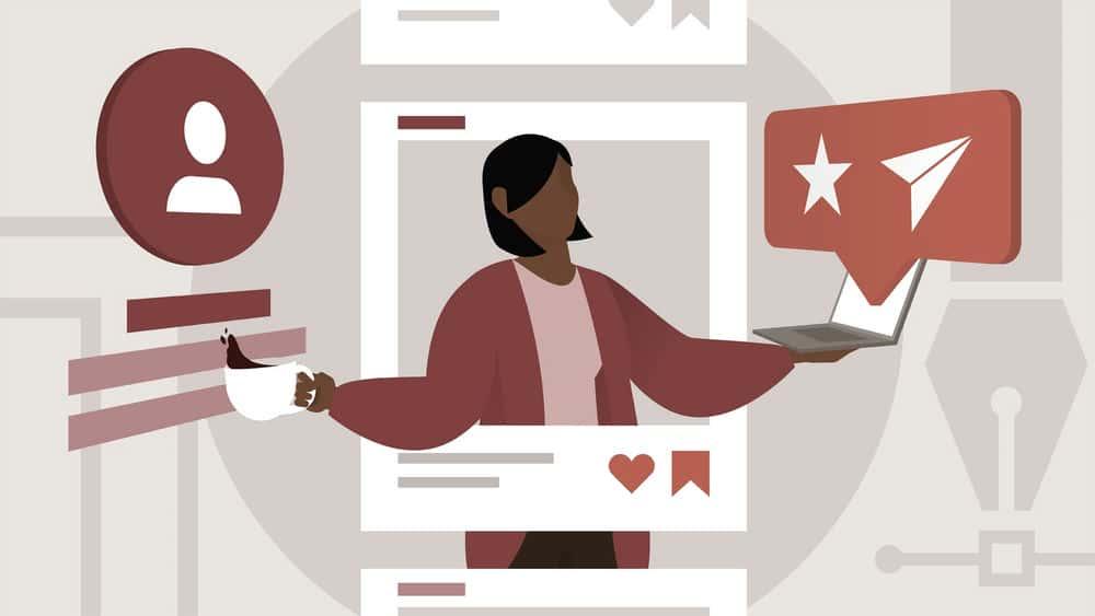 آموزش رسانه های اجتماعی برای طراحان گرافیک