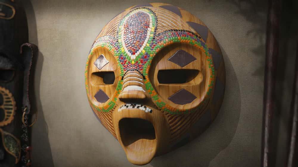 آموزش ایجاد یک ماسک قبیله ای آفریقایی برای چاپ سه بعدی در مایا و مود باکس