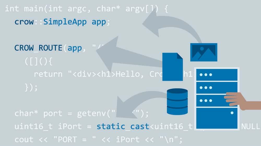 آموزش وب سرورها و API ها با استفاده از C ++