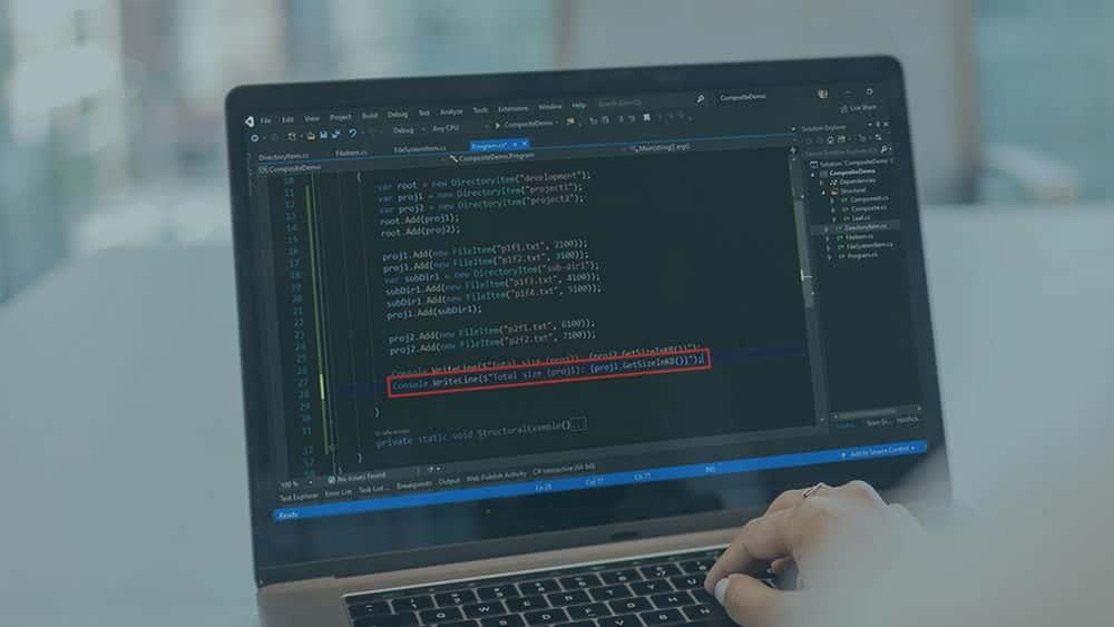 آموزش الگوهای طراحی C #: مرکب