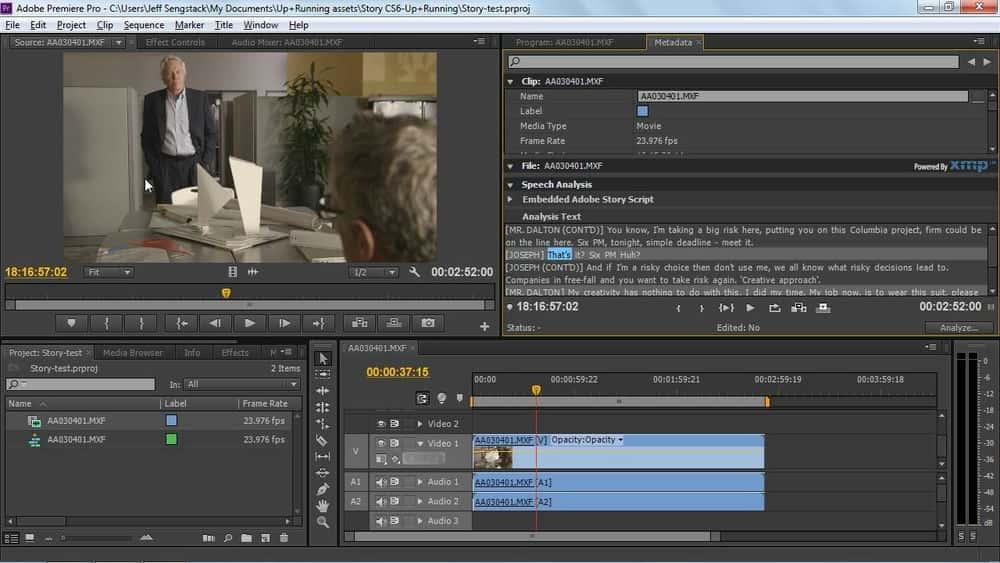 آموزش Adobe Story