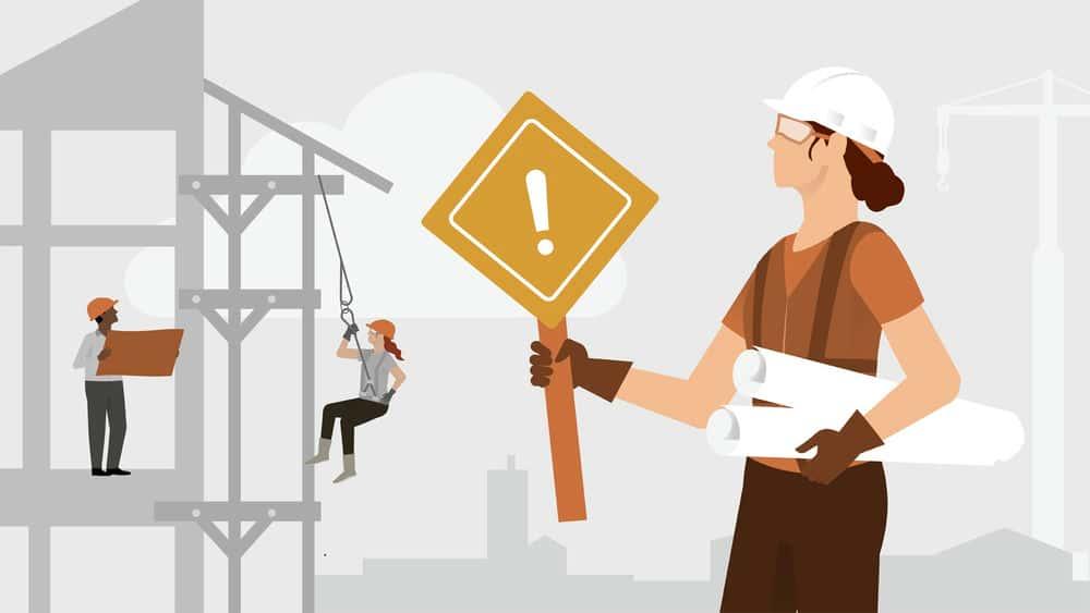آموزش صنعت ساخت و ساز: ایمنی