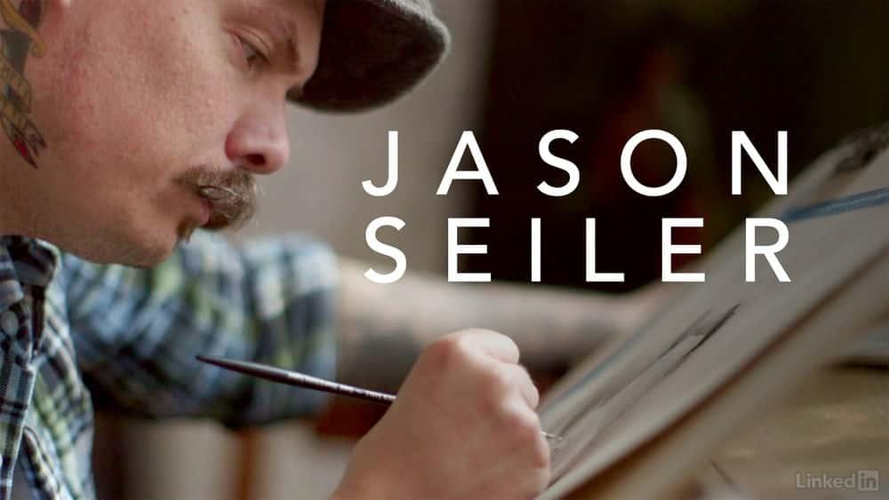 آموزش جیسون سیلر: نقاش دیجیتال و سنتی