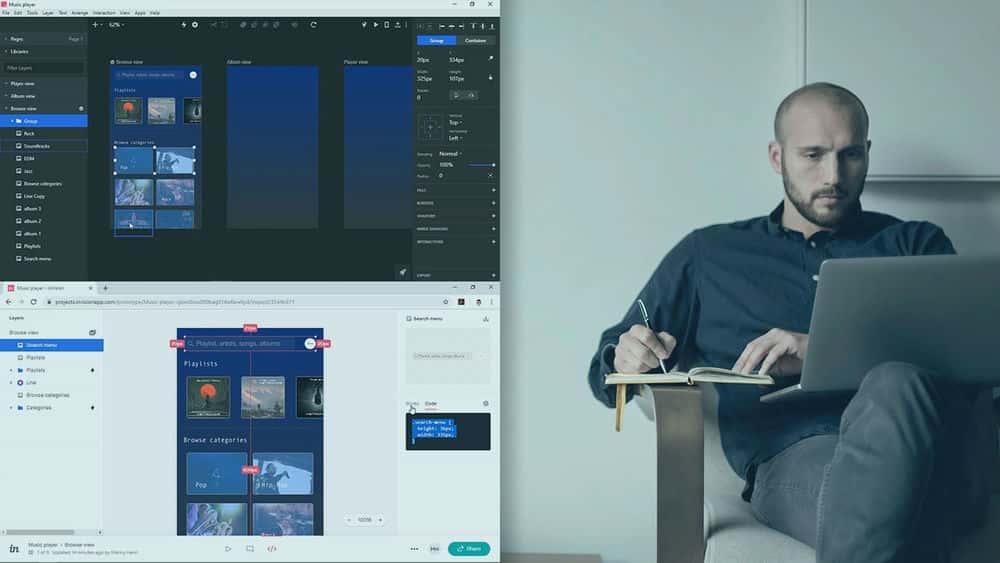 آموزش مبانی InVision Studio