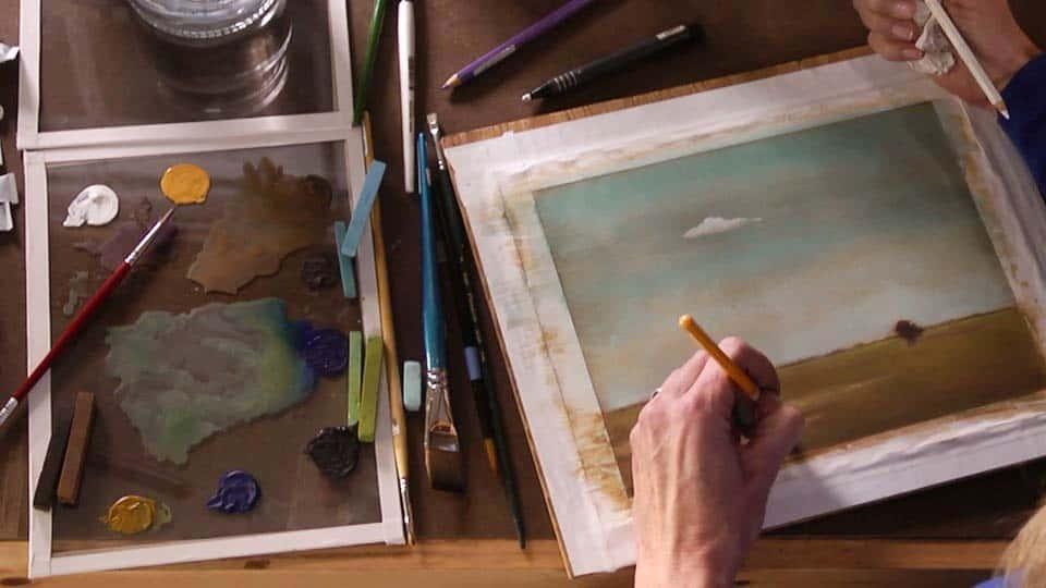 آموزش هنرمند در محل کار: رنگهای سوم
