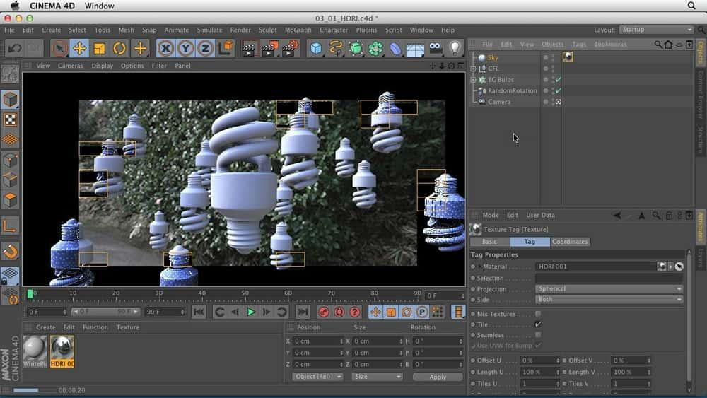 آموزش تکنیک های رندر تولید در Cinema 4D