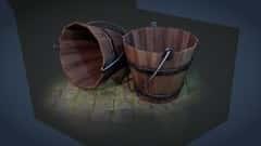 آموزش نحوه ایجاد یک پایه سطل چوبی با بلندر 2.8