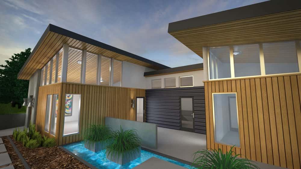 آموزش 3ds Max و V-Ray: مواد بیرونی مسکونی