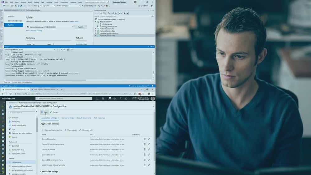 آموزش ساخت راه حل های بومی Cloud برای Azure با Visual Studio