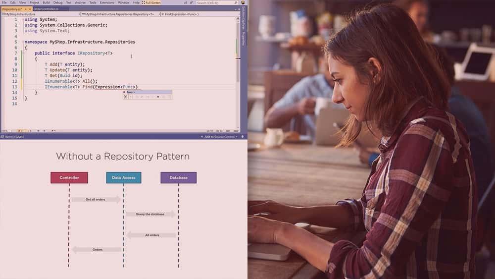 آموزش الگوهای طراحی C #: الگوهای دسترسی به داده ها