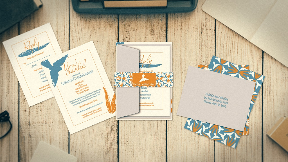 آموزش طراحی یک دعوت نامه مناسب در Illustrator