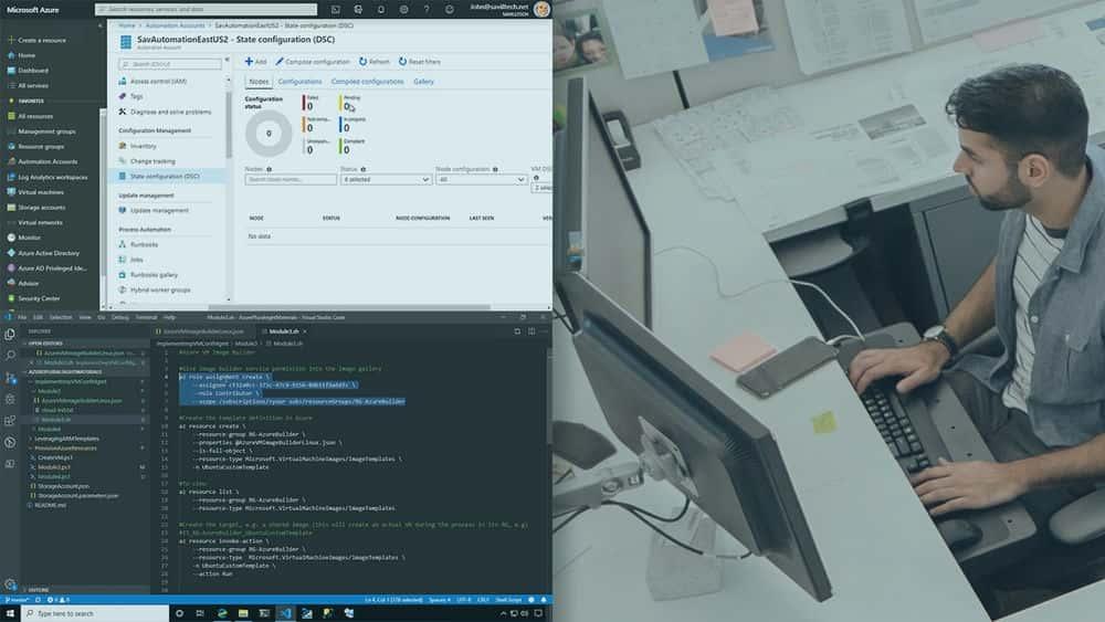 آموزش Microsoft Azure DevOps Engineer: مدیریت پیکربندی ماشین مجازی ضروری را پیاده سازی کنید