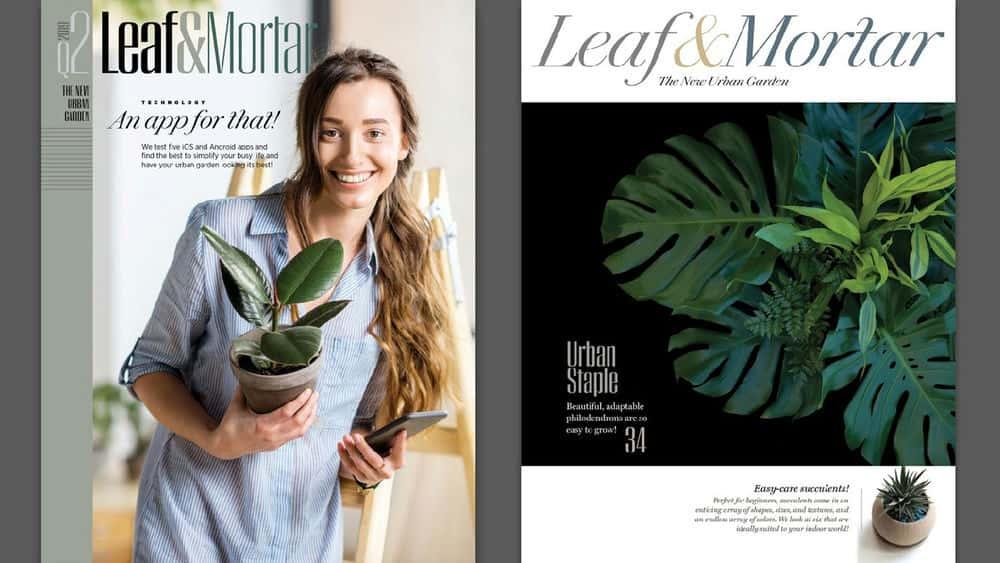 آموزش طراحی مجله شروع به اتمام: جلد