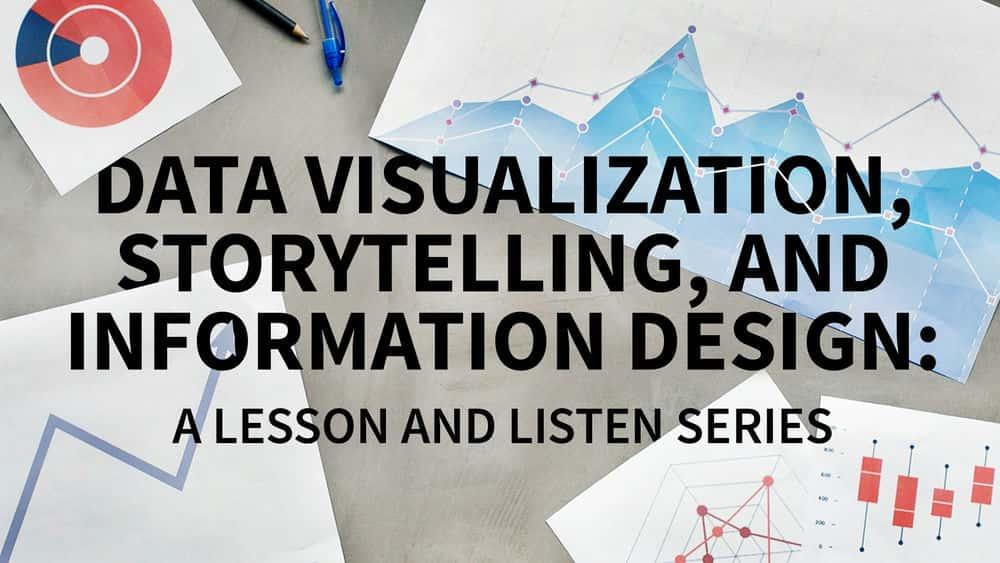 آموزش تجسم داده ها: مجموعه ای از درس و گوش دادن