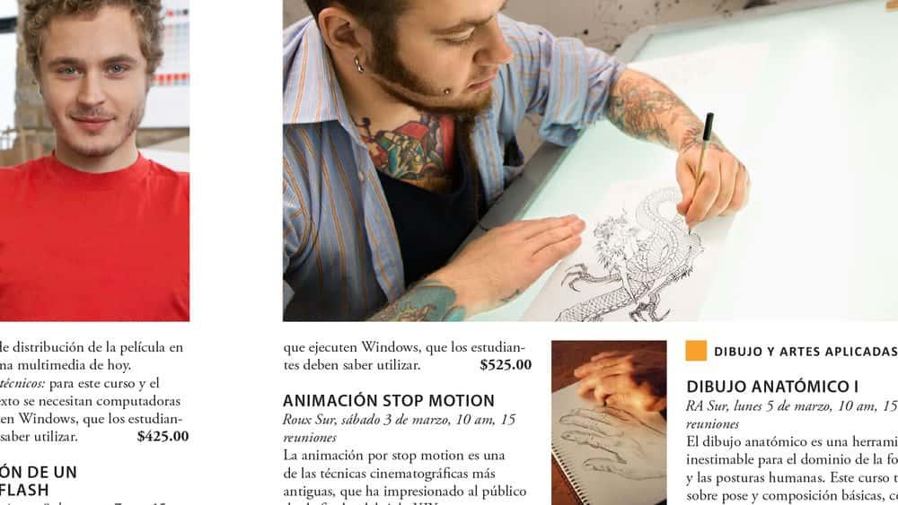 آموزش تنظیم یک طرح انگلیسی به اسپانیایی با InDesign