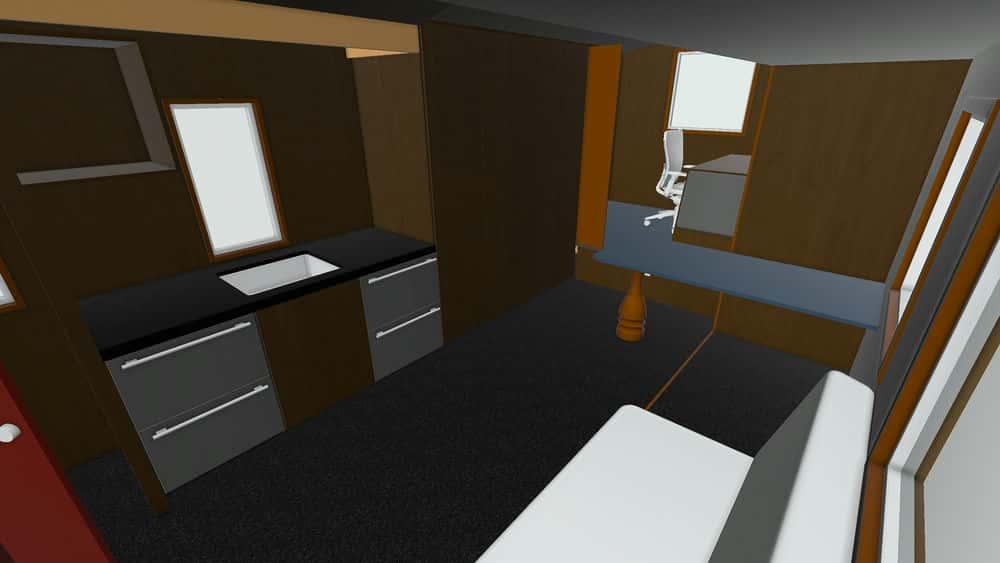 آموزش طراحی یک خانه کوچک با SketchUp