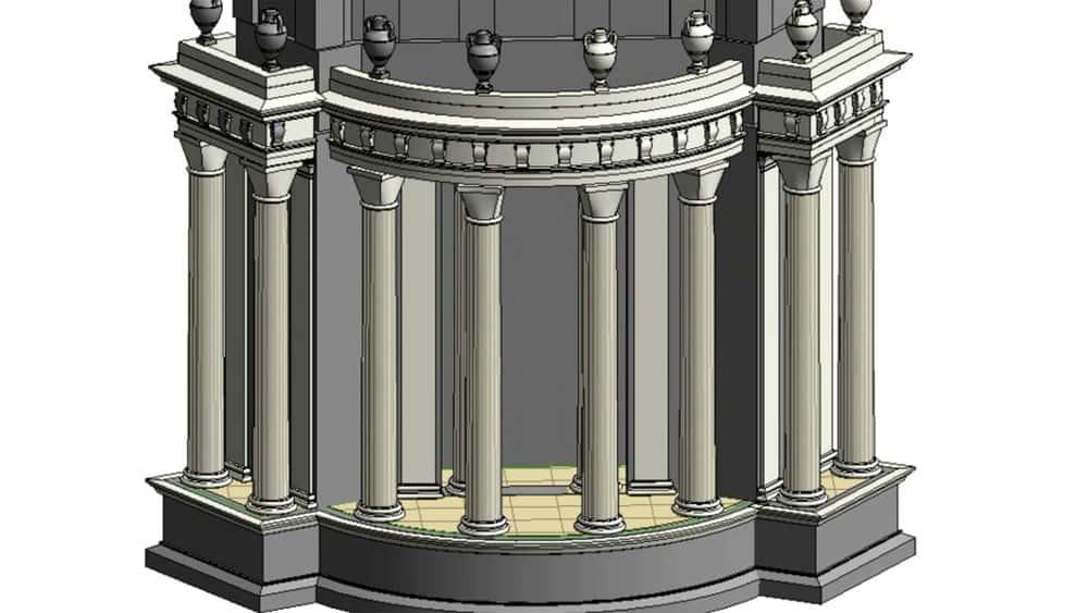 آموزش HBIM: بازسازی ساختمان تاریخی
