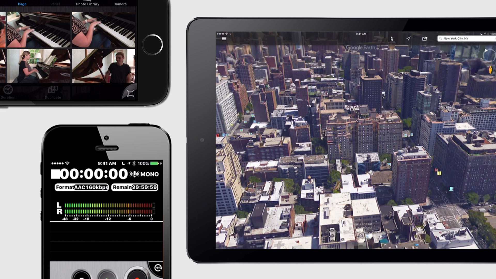 آموزش برنامه های تلفن همراه برای پروژه های عکس و فیلم