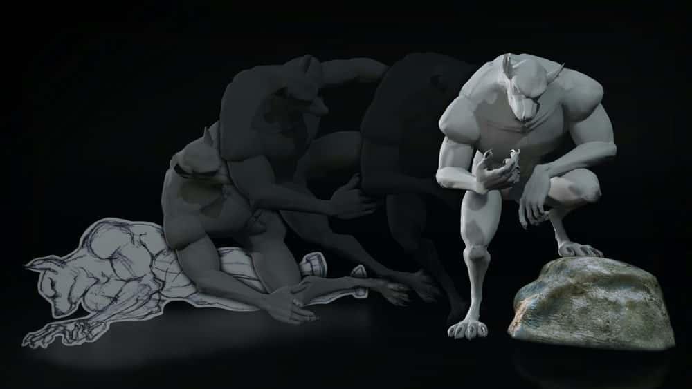 آموزش تکنیک های مسدود کردن انیمیشن در Softimage