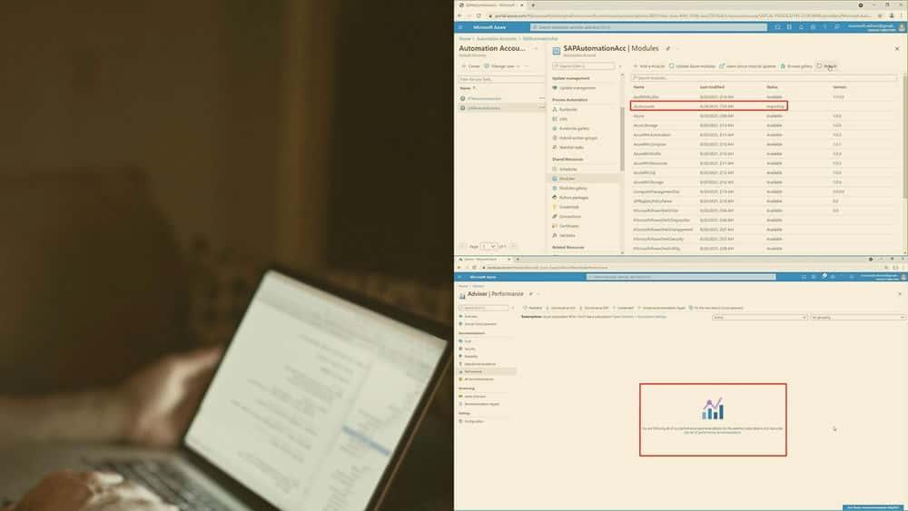 آموزش نگهداری حجم کار SAP در Azure
