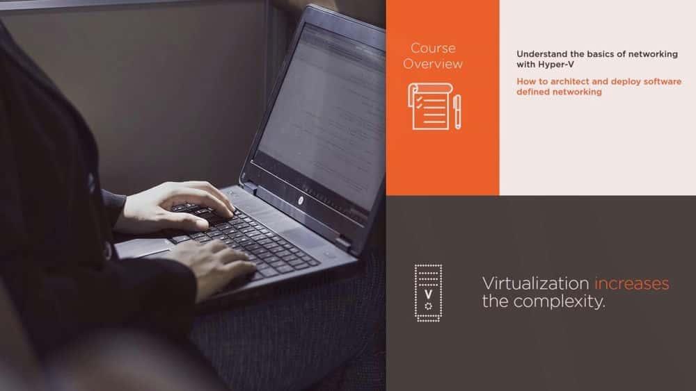 آموزش پیاده سازی شبکه تعریف شده از نرم افزار Windows Server 2016