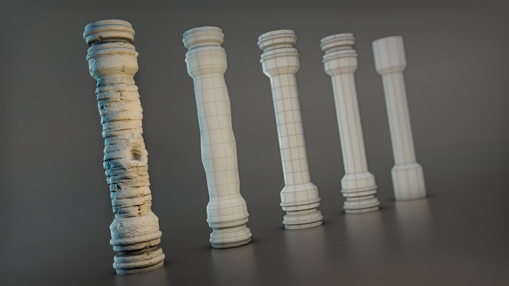 آموزش مجسمه سازی مفاهیم ادغام برای 3ds Max و Mudbox
