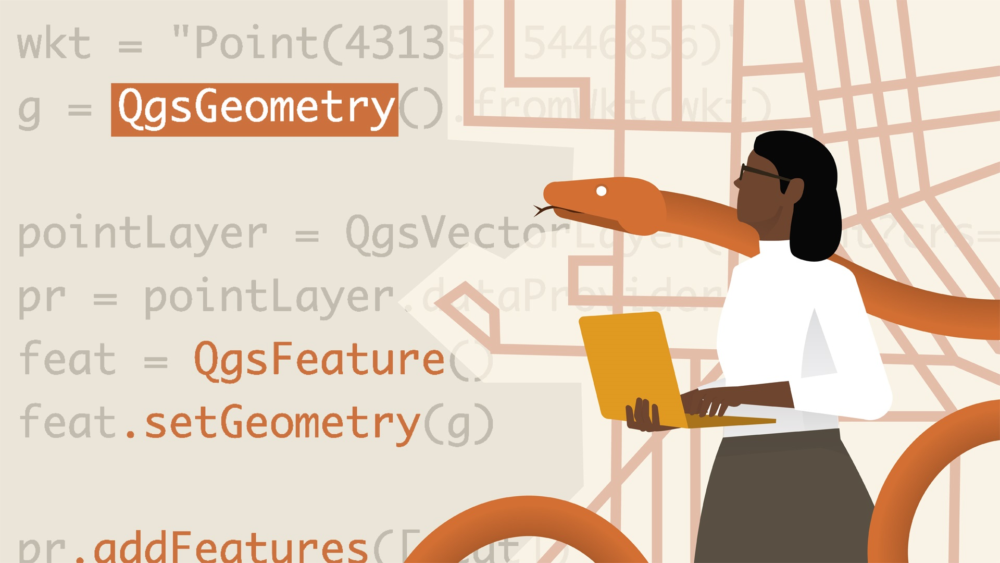 آموزش QGIS و پایتون برای AEC