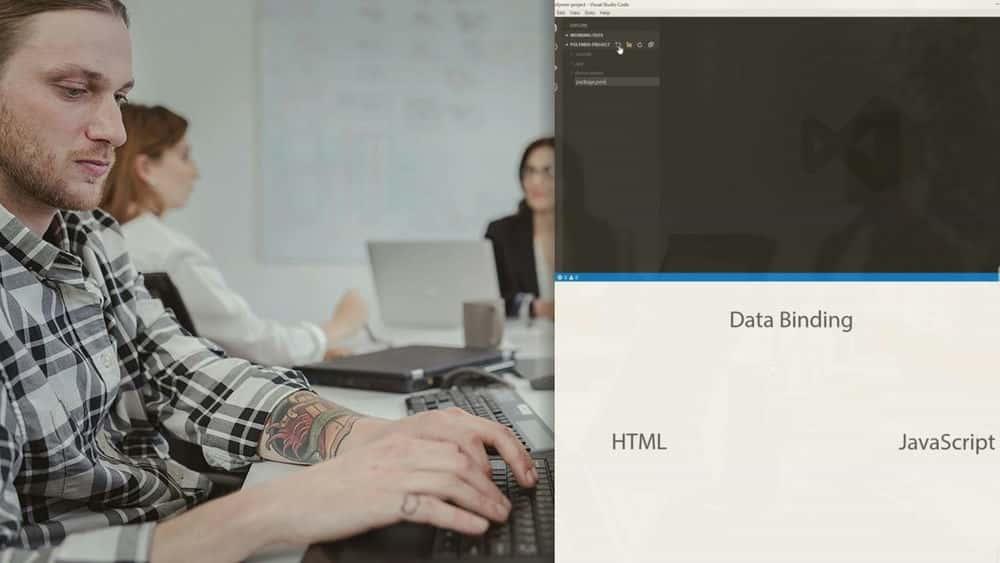 آموزش ساخت یک برنامه وب با Polymer.js و طراحی متریال