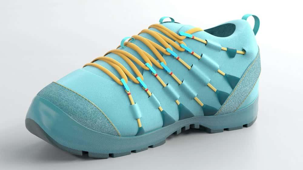 آموزش تجسم محصول Modo: مدل سازی کفش