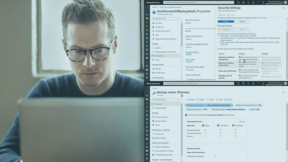 آموزش Microsoft Azure Solutions Architect: طراحی پشتیبان گیری و بازیابی