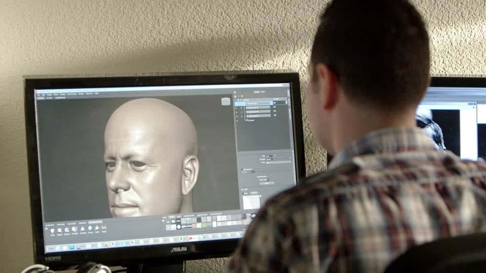 آموزش Dan Roarty: خلق پرتره های سه بعدی واقع گرایانه