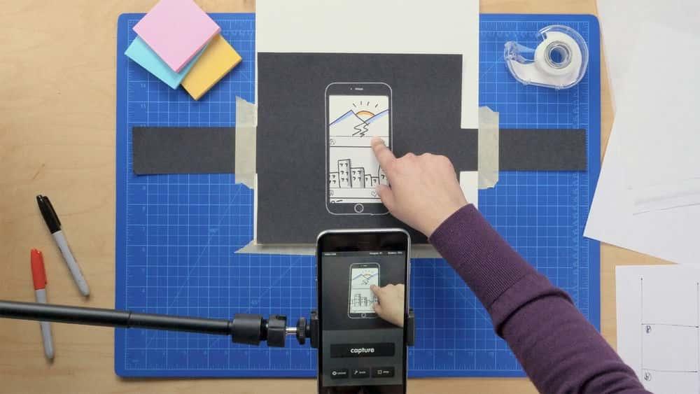 آموزش نمونه سازی دستی موبایل برای طراحان UX