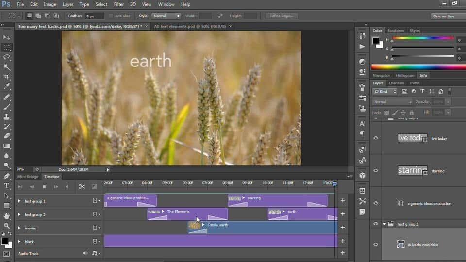 آموزش Photoshop CS6 One-on-One: تسلط