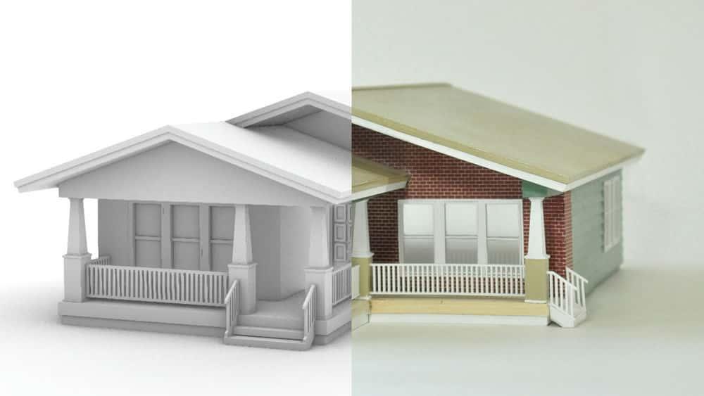 آموزش مدل های معماری: آماده سازی پرونده دیجیتال با کرگدن
