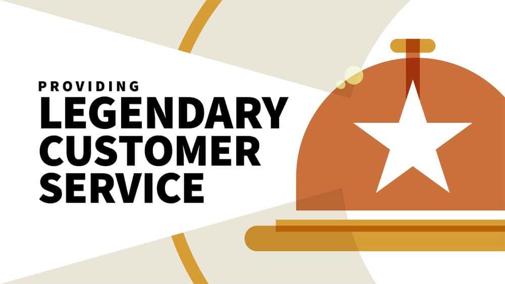 آموزش ارائه خدمات مشتری افسانه ای
