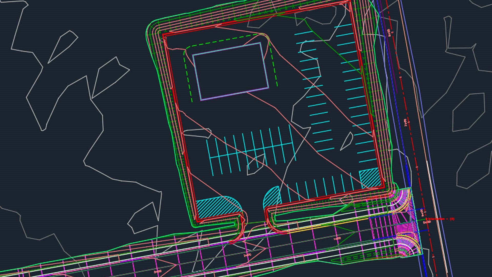 آموزش اتوکد Civil 3D: طراحی سایت