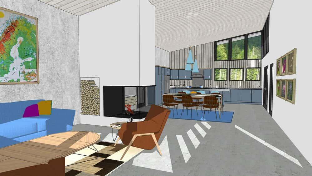 آموزش SketchUp برای معماری