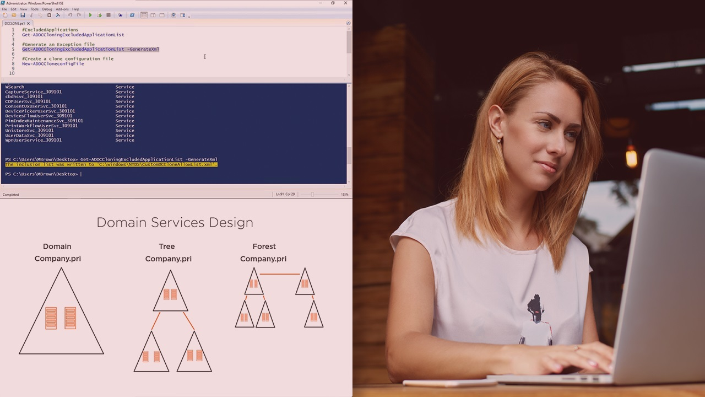 آموزش طراحی و نصب سرویس های دامنه Active Directory Windows Server 2019