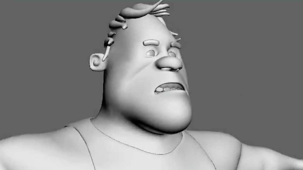 آموزش مدل سازی یک شخصیت در 3ds Max