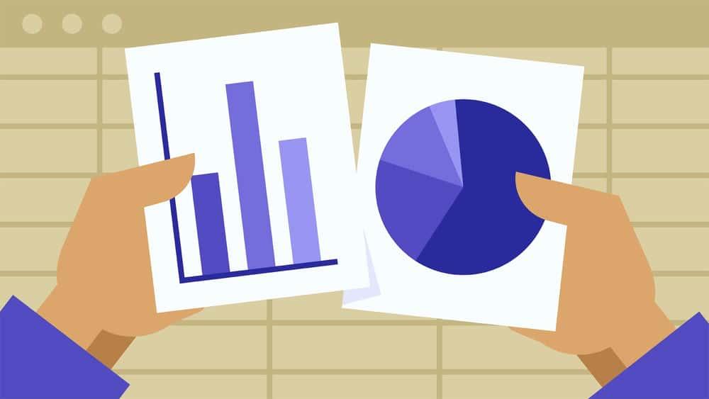 آموزش اکسل 2013: کار با نمودارها و نمودارها
